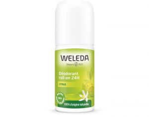 WELEDA Déodorant Roll-On 24H - Citrus - 50 ml