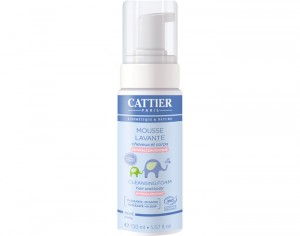 CATTIER Mousse Lavante Bébé - 150 ml