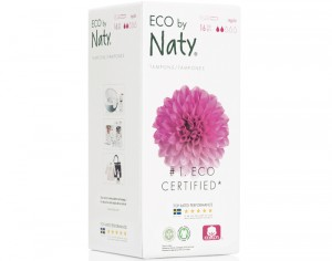 NATY Tampons Normal Avec Applicateur - Boite de 16
