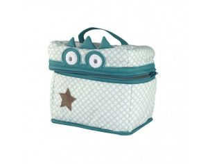 LITTLE CREVETTE Trousse de toilette Crocrodile