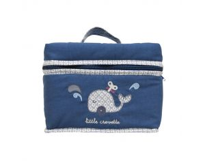 LITTLE CREVETTE Trousse de toilette Baleine