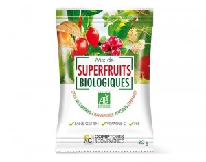 COMPTOIRS ET COMPAGNIES Mix de Superfruits Bio - 30 g