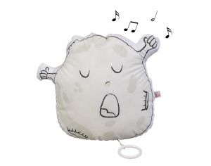 LITTLE CREVETTE Coussin musical phosphorescent Monsieur Lune
