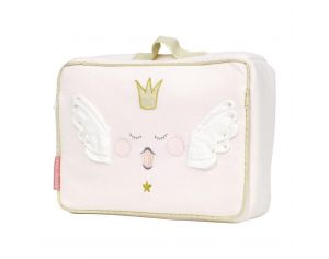 LITTLE CREVETTE Trousse de toilette valisette Princesse Swan - grand format