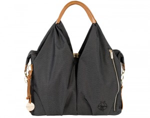 LASSIG Green Label Sac à Langer Neckline en Polyester Recyclé - Denim Black