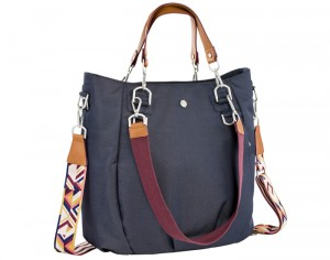 LASSIG Green Label Sac à Langer Mix'N Match - Denim Blue