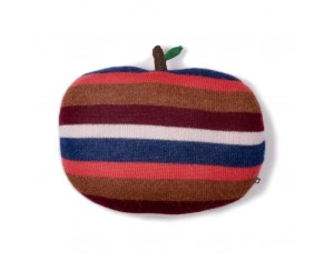 OEUF BE GOOD - Coussin pomme multicolore en alpaga