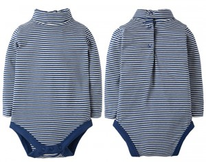 FRUGI Body Col Montant - Rayures Marines
