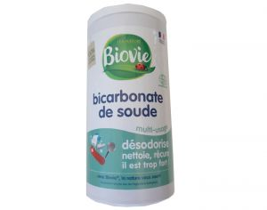 BIOVIE Bicarbonate de Soude Multi-Usage - Salière - 250 g