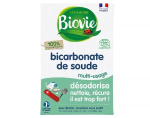 BIOVIE Bicarbonate de Soude Multi-Usage Naturel - 500 g