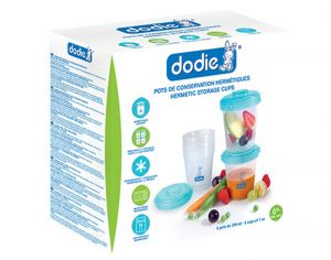 DODIE Lot de 6 Pots de Conservation