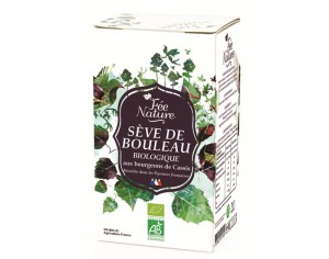 FEE NATURE Sève de Bouleau Bio Cassis - Bag-in-Box 2 L