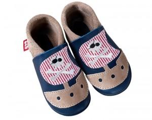 magasin en ligne e8825 25b78 Chaussons en cuir pour bébé : bébé au naturel