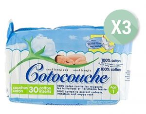 Cotocouche & Inserts Anti-Irritations
