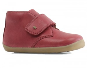 BOBUX Step Up Chaussures Bébé - Desert Dark Red