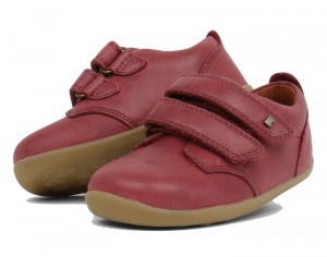BOBUX Step Up Chaussures Bébé - Port Dark Red