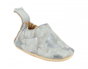 EASY PEASY Chaussons en Cuir Blumoo Ginko 0-6 mois