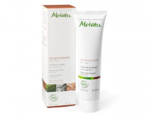 MELVITA Cr�me � raser moussante - 150 ml