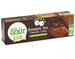 GOOD GOUT KIDZ Biscuits Chocolat Cacao - 110 g