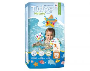 Couches de Bain Tidoo Taille 3 - Swim & Play - Couches Écologiques