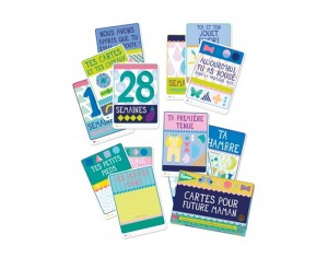 MILESTONE Cartes Photos pour Future Maman