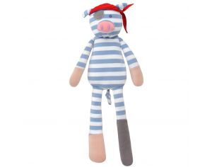 ORGANIC FARM BUDDIES Doudou Bio Pirate Pig