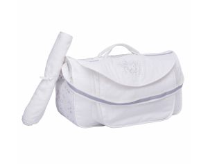 MAISON NOUGATINE SAC VOYAGE WEEK END CONSTELLATION en coton 100% bio