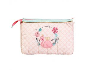 LITTLE CREVETTE Trousse de toilette Flamant rose