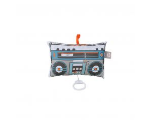 CAROTTE & Cie Coussin musical Ghettoblaster Wonderful World