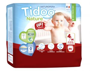 TIDOO Culottes d'Apprentissage - Taille 4 Maxi - 8-15 kg