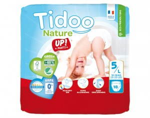 TIDOO Culottes d'Apprentissage - Taille 5 Junior - 12-18 kg 18 culottes