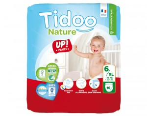 TIDOO Culottes d'Apprentissage - Taille 6 XL - +16 kg 16 culottes