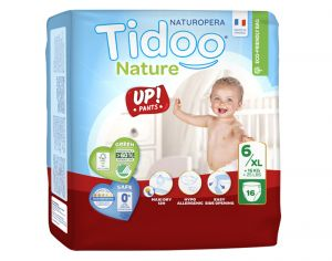 TIDOO Culottes d'Apprentissage - Taille 6 XL - +16 kg 2 x 16culottes