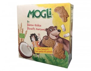 MOGLI Biscuits Enfants Ours - 125 g