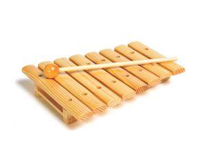 Xylophone 8 lames en bois de mad ra d s 3 ans pour les for Construction xylophone bois