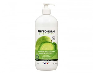 PHYTONORM Shampooing-Douche Amandes Vertes - 1 L