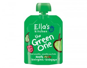 ELLA'S KITCHEN Smoothie The Green One - Dès 6 mois - 90 g