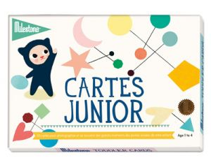 MILESTONE Cartes photos Junior - 1 à 4 ans