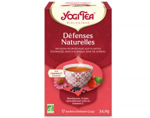 YOGI TEA Tisane en Sachet - Défenses Naturelles - 17 Sachets