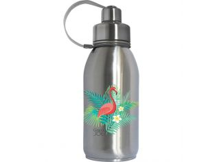 GASPAJOE Gourde en inox collection friendly Flamant - 700ml