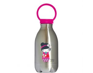 GASPAJOE Gourde en inox collection loopy Kokeshi - 450ml