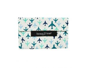 KEEP LEAF Mini pochette lavable - Avion
