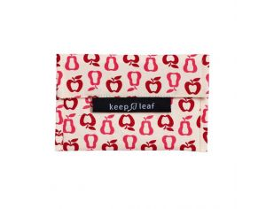 KEEP LEAF Mini pochette lavable - Fruits
