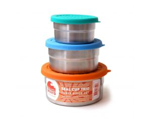 ECOLUNCHBOX Lunch Box Seal cup trio
