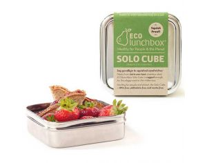 ECOLUNCHBOX Lunch Box Inox solo cube