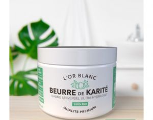 OKA FRANCE COSMETICS L'Or Blanc Beurre de Karité Premium - 100 ml