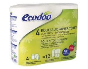 ECODOO Papier Toilette Compact Recycl�