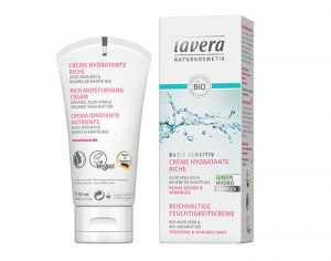 LAVERA Basis Sensitiv Crème Hydratante Riche - 50 ml