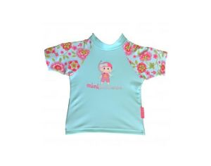 MAYOPARASOL Mini Princesse Tshirt top manches courtes anti UV Mini Princesse Multicolor