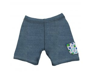 MAYOPARASOL Jeans Short bébé Multicolore